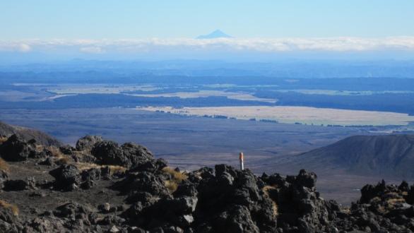 Taranaki in the distance