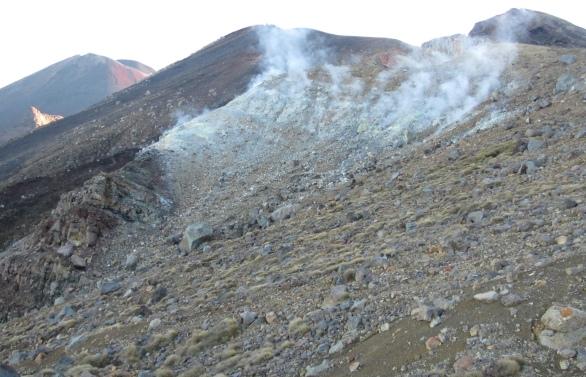 Volcanic geysers